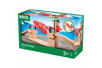 Brio World Lifting Bridge for Train Railway 3pc