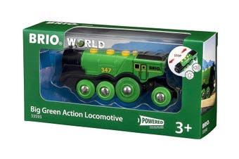 Brio World Big Green Action Locomotive Train 1pc