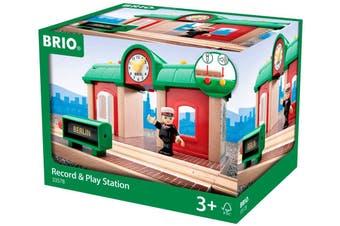 Brio World Record & Play station 2pc