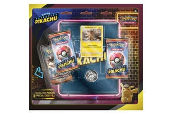 Pokemon TCG: Detective Pikachu Special Case File