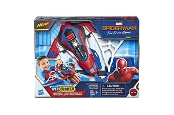 Marvel Spider-Man Web Shots Spiderbolt Blaster