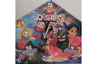 Ooshies XL Dc Advent Calendar 12 days of Christmas with 12 Figures