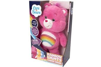 Care Bear Rainbow Lights Cheer Bear Plush