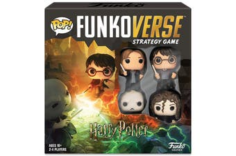Funko Pop Funkoverse Strategy Game Harry Potter #100 4pack Board Game