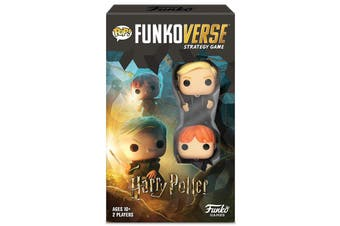 Funko Pop Funkoverse Strategy Game Harry Potter #101 2pack Expandalone