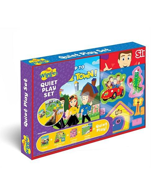 jigsaws Puzzle The Wiggles Quiet Play Set Book