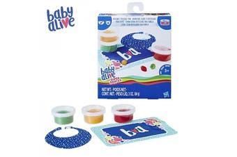 Hasbro Baby Alive Super Snacks Reusable Solid Doll Food Refill Pack