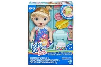 Hasbro Baby Alive Super Snacks Snackin' Shapes Baby Doll
