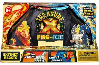 Treasure X Fire vs Ice - Extinct Beasts