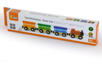 Viga Wooden Pretend Toys Train Set Accessory