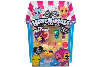 Hatchimals Colleggtibles Series 7 Pet Obsessed Multi Pack - Assorted