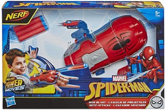 Marvel Spider-Man Power Moves Role Play Web Blast Web