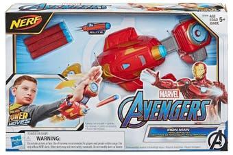 Marvel Avengers Power Moves Role Play Iron Man Repulsor Blast Gauntlet