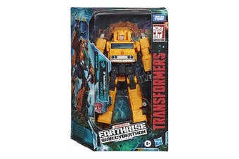 Transformers War for Cybertron: Earthrise Voyager Grapple Action Figure