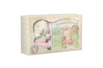 Bunnies By The Bay Gift Set Cricket Island Friendship Blossoms Book & Plush