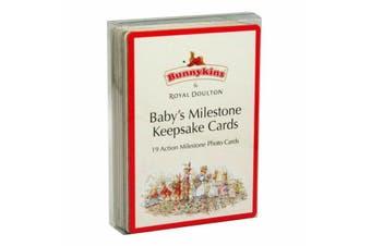 Bunnykins Baby's Milestone Keepsake Cards