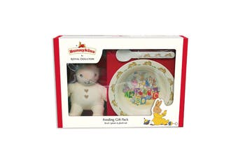 Bunnykins Feeding Gift Pack Plush Toy, Bowl & Spoon Baby