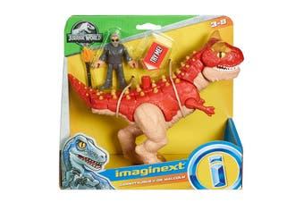 Imaginext Jurassic World Carnotaurus & Dr. Malcolm