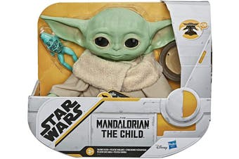Star Wars The Child The Mandalorian Talking Plush Toy with Accessories