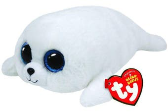 "TY Beanie Boos Regular 6"" - ICY they white Seal plush"
