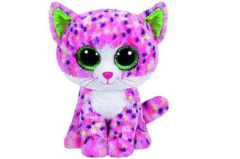 "TY Beanie Boos Regular 6"" - Sophie the Pink Cat  Plush"