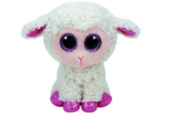 "Ty Beanie Boos Regular 6"" - Easter Twinkle Cream Lamb Plush"