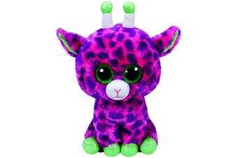 Ty Beanie Boos Medium - Gilbert Pink Giraffe Plush