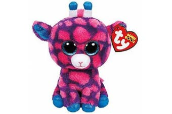 "TY Beanie Boos Regular 6"" - Sky High Pink Giraffe Plush"