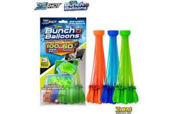 ZURU Bunch O Balloons 3 Pack Foil = total 100 water balloons