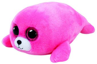 "TY Beanie Boos Regular 6"" - Pierre the Pink Seal plush"