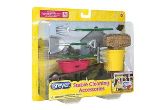 Breyer Classics Horse Stable Cleaning Accessories Set 1:12 SCALE