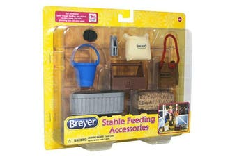 Breyer Classics Horse Stable Feeding Accessories Set 1:12 SCALE