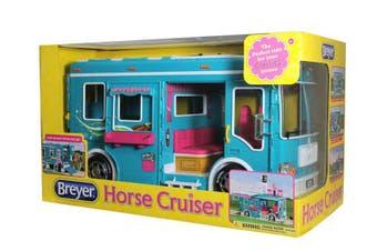 Breyer Classics Vehicle Horse Cruiser Teal 1:12 SCALE