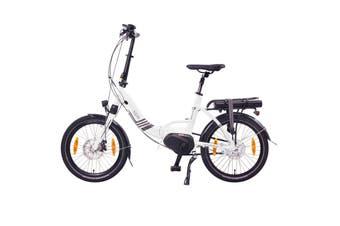 "NCM Paris Max N8R Folding E-Bike, 36V 14Ah 540Wh Battery, Size 20"""