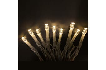 30 LED Fairy Light | 3 Colours Options | Battery Included Warm White