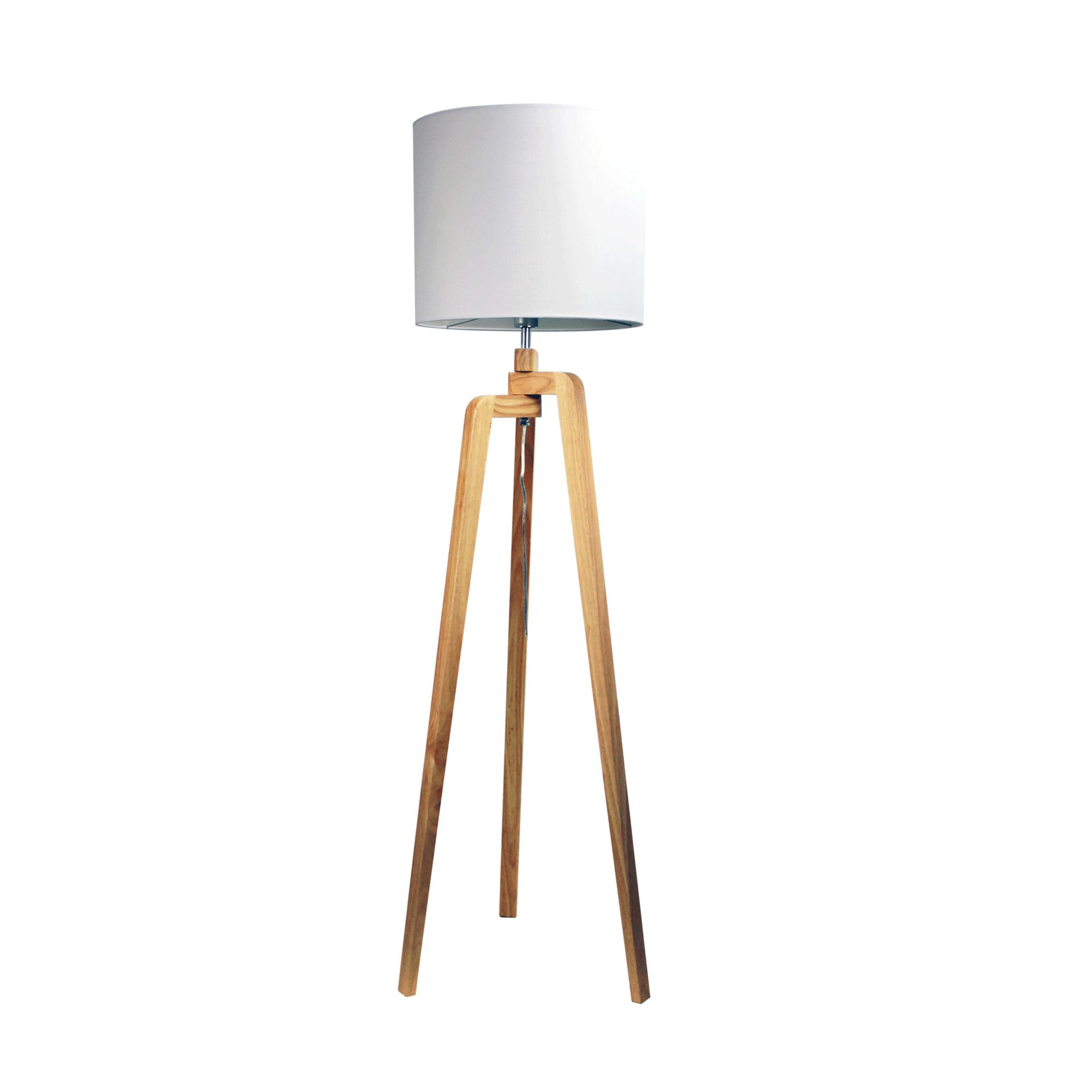 Lund Scandinavian Style Floor Lamp Matt Blatt
