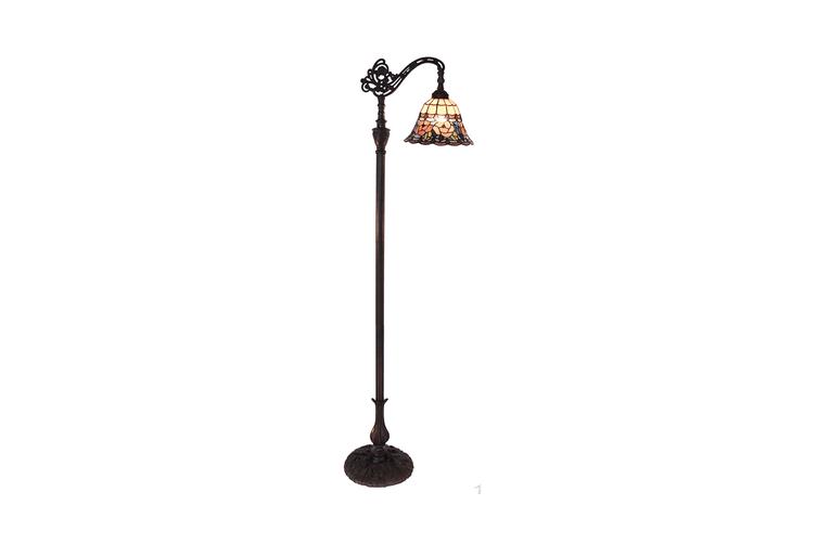 Chandell Edwardian Tiffany Floor Lamp