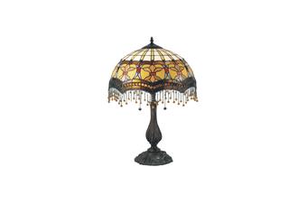 Madonna Beaded Leadlight Tiffany Table Lamp