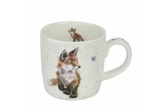 Royal Worcester Wrendale Fox Born to be Wild Mug