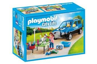Playmobil City Life - Mobile Pet Groomer
