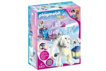 Playmobil Magic - Yeti with Sleigh