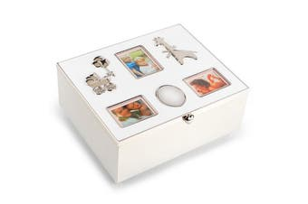 Whitehill Baby - Silverplated Engravable Baby Photo Box
