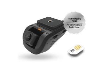 Dashmate DSH-932 3G Dual Channel Dash Cam