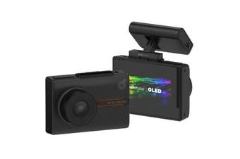 """Dashmate DSH-1252 4K Ultra HD Dual Channel Dash Cam With 3.0"""" OLED Touch Screen, WIFI & GPS"""