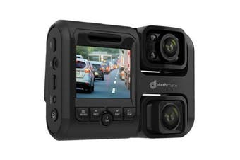 "Dashmate DSH-592IR Full HD Front & Infrared Cabin Dash Camera with 2.0"" Screen, WIFI & GPS"