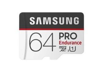 Samsung PRO Endurance Dash Cam Micro SD Memory Card