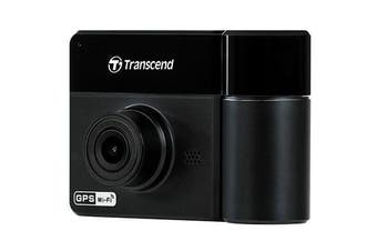 Transcend DrivePro 550 Dual Channel Rideshare Dash Cam With 64Gb