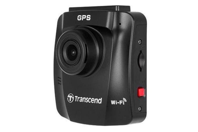 Transcend DrivePro 230 Dash Cam With 32GB Class 10 Micro SD