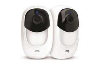 Uniden Guardian App Cam Solo+ Security Camera (2 Pack)