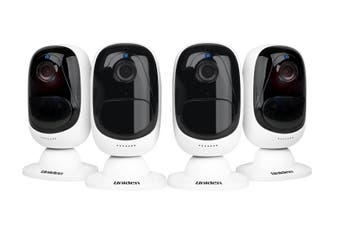 Uniden Guardian App Cam Solo+ Security Camera (4 Pack)